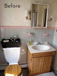bathroom makeover ideas on a budget amazing budget bathroom makeover curbly