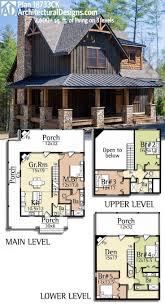 hillside home plans small lodge plans modern rustic house mountain cabin hillside lot