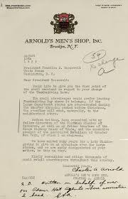 document of the month november fdr presidential library museum