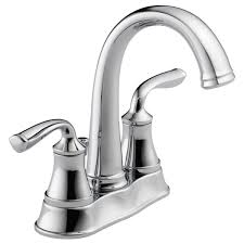 Delta Bathroom Faucets by 25716lf Eco Two Handle Centerset Lavatory Faucet