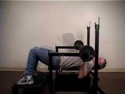 Weight Bench With Spotter Pneumatic Bench Press Youtube