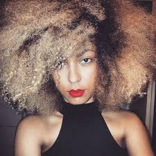 pictures of blonde highlights on natural hair n african american women the 25 best blonde afro ideas on pinterest blonde natural hair