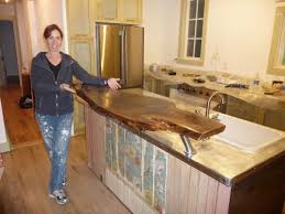 Kitchen Island Made From Reclaimed Wood 10 Great Diy Kitchen Countertops