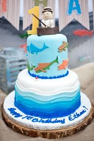 fish birthday cakes kara s party ideas colorful fishing birthday party kara s