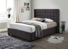 Tufted Platform Bed Princeton Dark Grey Tufted Platform Bed Furniture Queen Katy