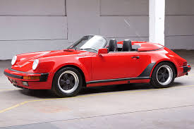 1990 porsche 911 red the 1989 porsche speedster is a beauty 30 years in the making