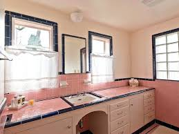 pink tile bathroom ideas pink tile bathroom ideas bathroom vintage pastel pink five vintage