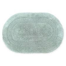 Oval Bath Rugs Visaaj Reversible Oval Bath Rug Bed Bath Beyond