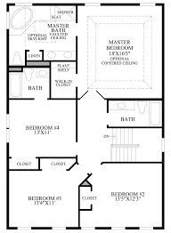 Master Bedroom Bath Floor Plans Lenah Mill The Villages The Vansant Home Design
