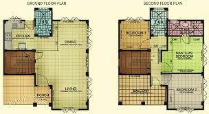 one storey house floor plan unbelievable 8 one storey house plans in the philippines storey