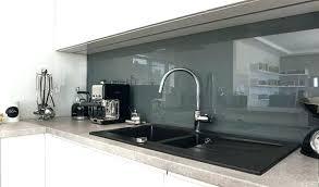 credence cuisine imitation credence noir mat cuisine mat mee aluminium credence verre noir mat