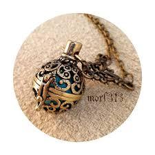 vintage locket pendant necklace ornament decorative