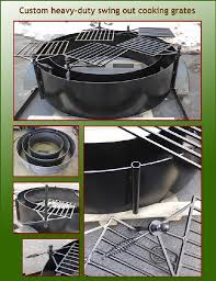 Fire Pit Grill Insert by Welcome To Wisconsin Iron Works