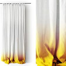 shop linen curtain panels on wanelo