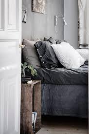 Grey Linen Bedding Pin By Jen On B E D R O O M Pinterest Bedrooms Instagram And