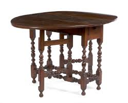 william and mary table american william and mary maple gate leg table with drawer