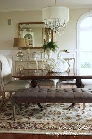 Pendant Lighting Over Dining Table Elegant And Luxurious Espresso Dining Set With Tufted Bench And