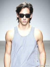 male models with long straight hair medium length hairstyles for men