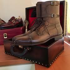 brown leather boots for men men u0027s luxury footwear by paul parkman