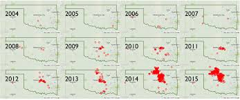 Fault Line Map Oklahoma Earthquake Map Wisconsin Map