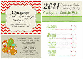 cookie exchange printables voting cards more at home
