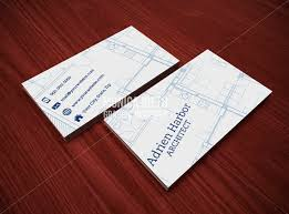 Business Cards Interior Design Printable Architect Business Card Template Interior Designer