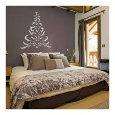 antler christmas tree wall sticker in white decorations u0026 wall stick