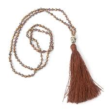 boho style necklace images Exclusive quality colorful beads tassel bohemian style necklaces jpg
