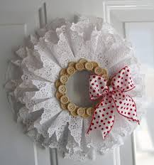 New Year Decorations With Paper by Best 25 Paper Doilies Ideas On Pinterest Kitchen Tea Parties