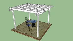 Building A Pergola On Concrete by Diy Pergola Plans How To Make A Pergola Howtospecialist How
