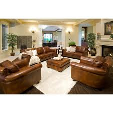 Light Colored Leather Sofa L Shaped Light Brown Leather Couch With Recliner Decor White Faux