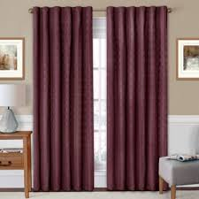 Burgundy Curtains With Valance Buy Burgundy Curtains From Bed Bath Beyond