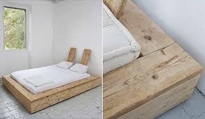 kleiderschrank selber bauen mit holzregalen bett selber bauen für ein individuelles schlafzimmer design diy