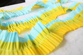 streamers paper sewing paper streamers