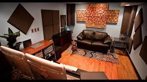 home recording studio design and decorations youtube