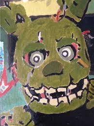 painting fnaf third fnaf painting by singe227 on deviantart