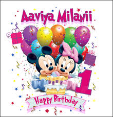 baby mickey 1st birthday baby mickey and minnie mouse 1st birthday personalized any name