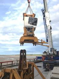 cranes dismantled as massive machinery leaves mersey gateway site