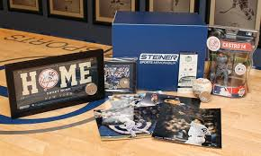 gifts for yankees fans mlb memorabilia gift boxes for yankees red sox or mets fans groupon