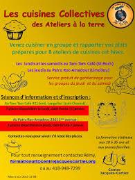 cuisine collective recrutement recrutement les cuisines collectives des ateliers à la terre