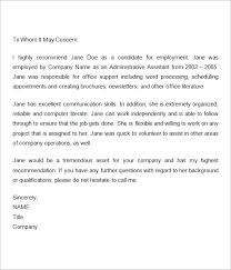 how to write employment letter of reference compudocs us