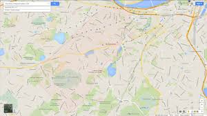 Ma Map Brookline Massachusetts Map