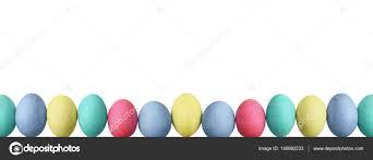 pastel easter eggs pastel easter eggs white background stock photo