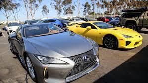 lexus lc in blue the lexus lc 500h u0026 lexus lfa together in california auto moto