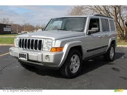silver jeep liberty 2007 2007 jeep commander sport 4x4 in bright silver metallic 690999