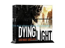 dying light playstation 4 3 styles game dying light decal skin for ps4 console playstation