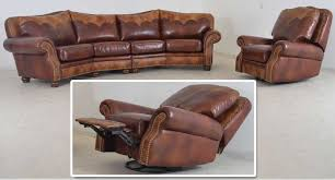 Loveseat Glider Milano Swivel Glider Recliner Texas Home U2039 U2039 The Leather Sofa Company