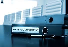 terms and conditions yes fintech