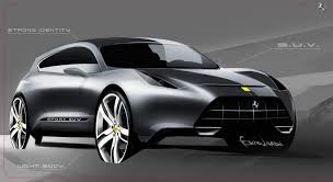 ferrari sketch 2015 the best concept ferrari suv by bernardi design car sketch