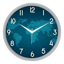 buy it2m designer silent non ticking movement round plastic wall buy it2m designer silent non ticking movement round plastic wall clock 28 cm x 28 cm x 5 cm blue 501w online at low prices in india amazon in